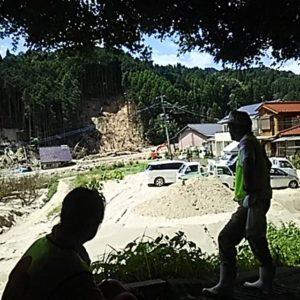 朝倉市災害復興労力支援
