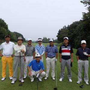 「チャリティーゴルフ」打ち合わせゴルフ会