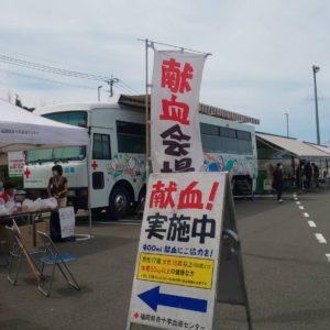 カインズ福岡新宮店にて献血奉仕活動を行いました